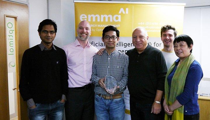 Optimal's revolutionary EMMA AI energy management solution wins prestigious Wright Commission Award