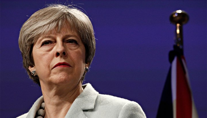 Theresa May sets legally binding net zero emissions target for 2050