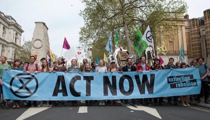 Extinction Rebellion postpones May protest in London due to coronavirus